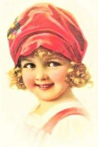 Themes Vintage illustrations/pictures - Sweet Girl
