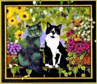 """Cat Art"" -Brigitte Nosko"