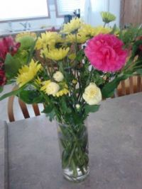 pretty flowers for my sister