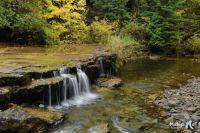 Lower Autrain Falls, Michigan USA