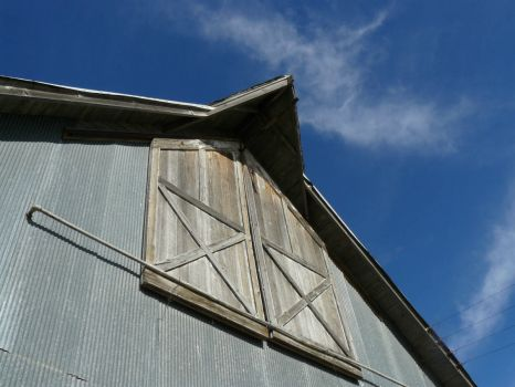 Old barn.  Nr Woodston, Kansas.