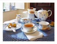 Blue Tea Setting