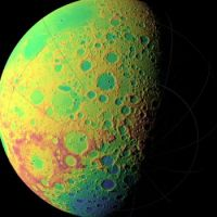 the far side of the Moon, as surveyed by scientists.