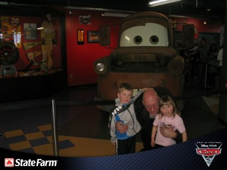 the kids and I and mater