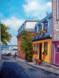 Quebec City Neighborhood