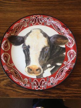 Cow Tray