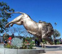 San Diego Zoo - Lion Statue