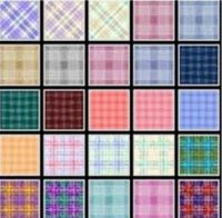 plaids - larger, for Gaillou