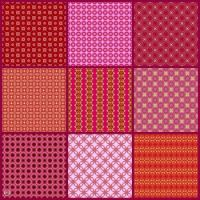 Patterns Made From My Ruby Birthstone Kaleidos!! ~ M