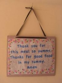 mealtime prayer