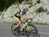 Joyce Vanderbeken op training