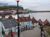 Whitby from the 199 steps