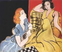 A The Conversation, 1941 - Henri Matisse -
