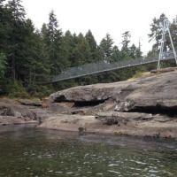 Englishman River - Top Bridge