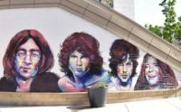 """""""Legends of Rock"""" Mural at The Gateway- Salt Lake City, Utah"""
