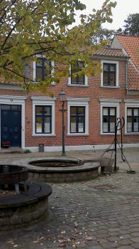 The old part of town - water pump