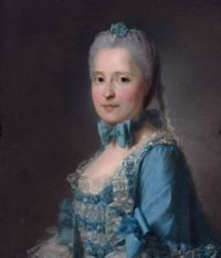 Jean-Martial Frédou Portrait of Marie-Josèphe of Saxony, Dauphine of France (1731?1767) circa 1760