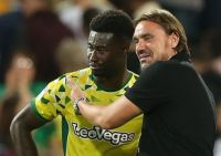 ALEX TETTEY CANARIES MIDFIELDER & DANIEL FARKE HEAD COACH