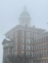 Winter Morning Fog, State Hospital