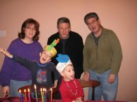 Mom,sons and oncles