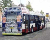 garbage bus