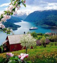 Cruising In A Fjord, Norway