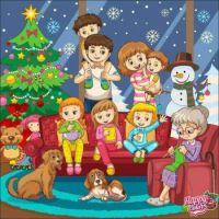 Christmas Eve with Grandma