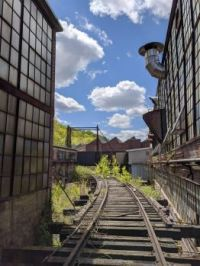 abandoned papermill