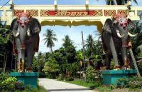 Elephant Gate at Sibaja Palms Resort in Thailand