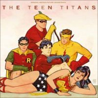 Teen Titans (Breakfast Club homage) by Cliff Chiang