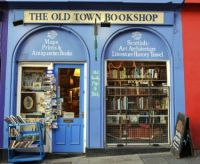 Old Town Bookshhop, Edinburgh, Scotland