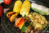 Kebab and Corn
