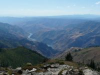 Looking Down into Hells Canyon, Idaho Side #2