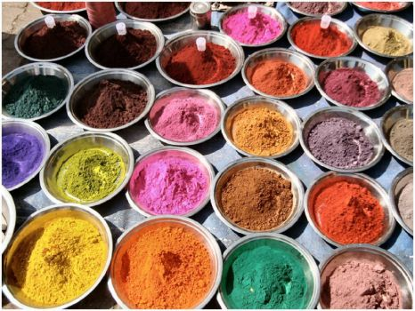 Pigments for Holi