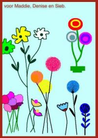 Simple but cheerful flowers.