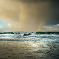 Double Rainbow, Durness, Scotland, UK