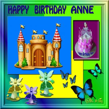 HAPPY BIRTHDAY ANNE..... ♥♥♥