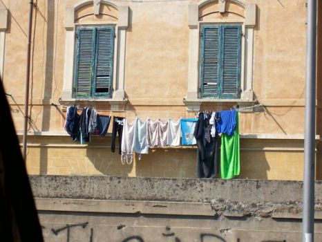 Laundry Day in Italy
