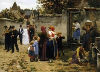 """Guillaume Seignac, """"The Wedding Procession"""""""
