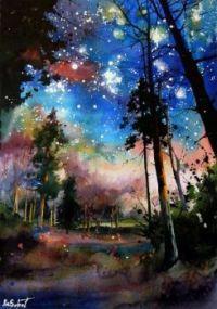 Forest Stars - Anna Sokolova