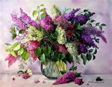 Vase of Lilacs