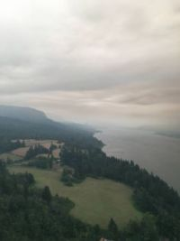 Cape Horn during Eagle Creek Fire, Sept. 4, 2017