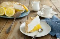 Theme: Desserts - Lemon Meringue Pie