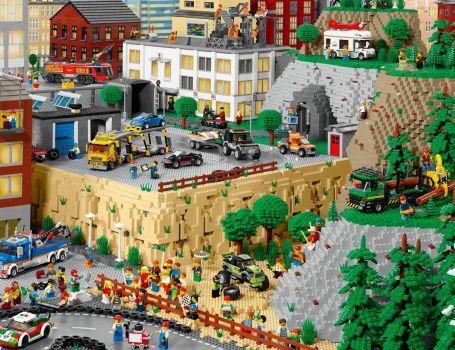 Lego City panorama