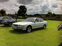 Car Motor Cavalcade Castle Cary UK