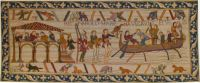 The Bayeux tapestry.