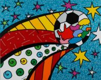 South Africa by Romero Britto