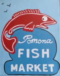 Pomona Fish Market painting