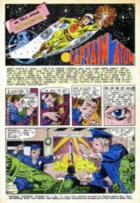 First page of first Captain Action story