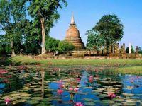 Wat Sa Si, Sukhothai Historical Park, Thailand